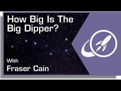 How Big Is The Big Dipper?