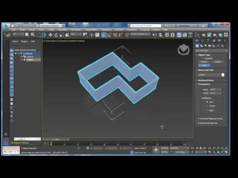 12b-(हिंदी - Hindi) 3Ds Max - Creating Walls Door Window