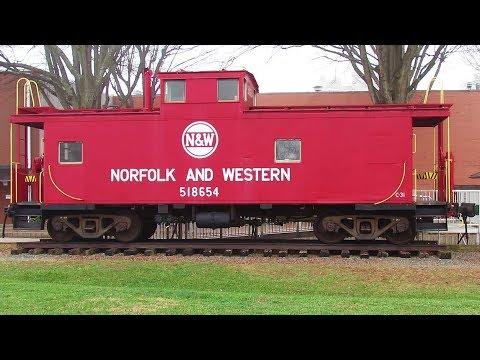 Norfolk & Western Caboose #518654 - Burlington, NC