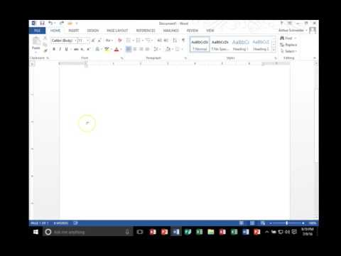 Disappearing Margin in Word