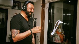 Sanjay Dutt Singing JAI MATA DI Song For Bhoomi