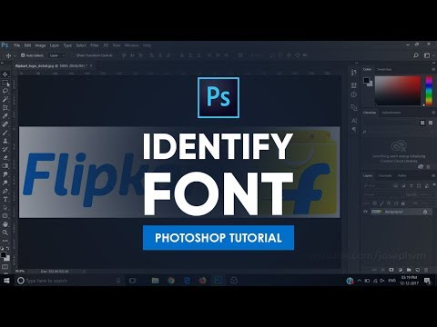 Identify Font | Photoshop Tutorial