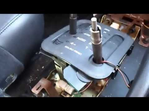 1999 thru 2002 Jeep Cherokee shift knob removal