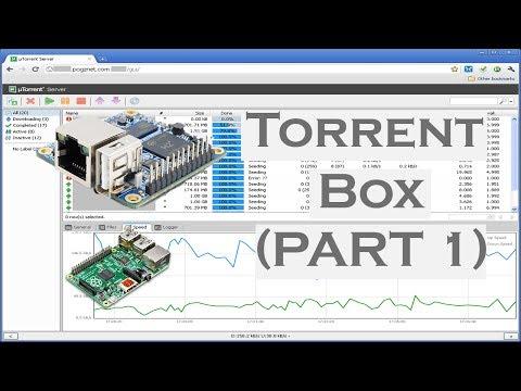 TORRENT BOX PART 1 : REPATITION LOW MEMORY ,ORANGE PI, RASPBERRY PI