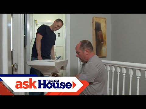 How to Replace a Pedestal Sink