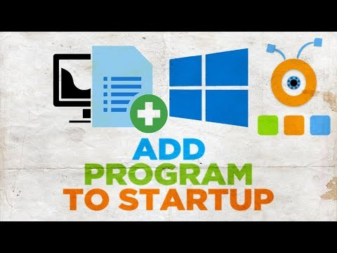 How to Add a Program to Windows 10 Startup | How to Change Windows 10 Startup Programs