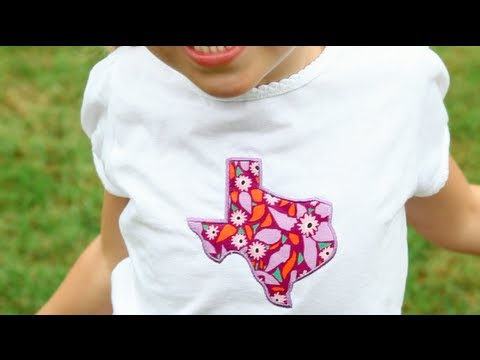 How to Appliqué on an Embroidery Machine