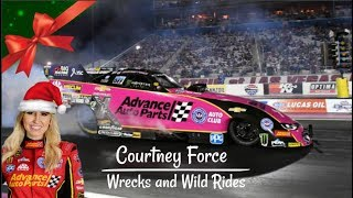 Courtney Force | Wrecks and Wild Rides | Funny Car