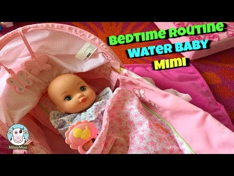 Water baby Mimi's Bedtime Routine