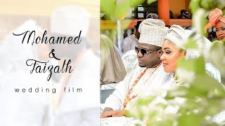 Mohamed  & Faizath wedding film