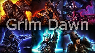 Kinetic Vs Loghorrean (Final Boss) Grim Dawn Act 4 Gameplay