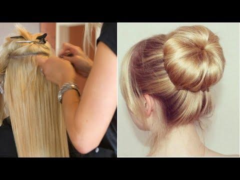 Elegant BUN Hairstyle  EASY Updo Hairstyles|