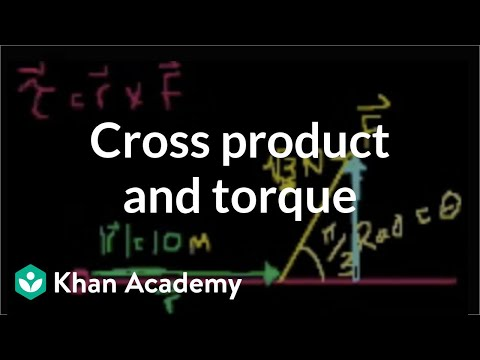 Cross product and torque | Moments, torque, and angular momentum | Physics | Khan Academy