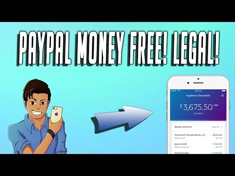 How To Get Free Paypal Money 2018!!!! New On Your iPhone!!! Real No Surveys Legal!!! TechnoTrend