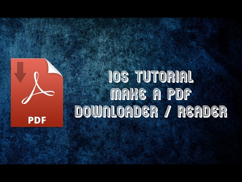 iOS Tutorial Make a PDF Downloader and Reader from scratch in Swift 3 - Part 2
