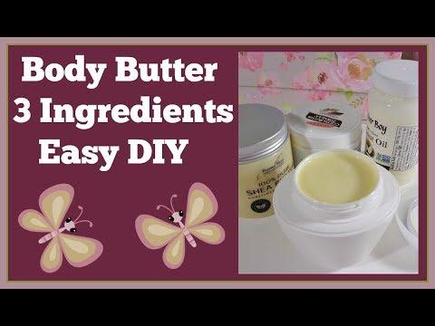 Body Butter DIY 🌸 Easy 3 Ingredients