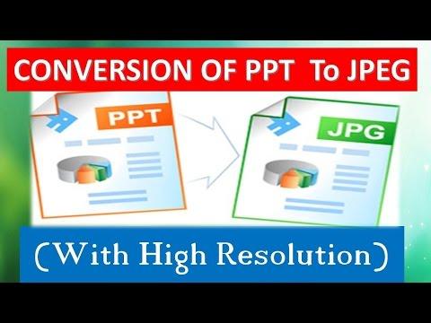 Cara Merubah Power Point Menjadi File Gambar atau Jpg