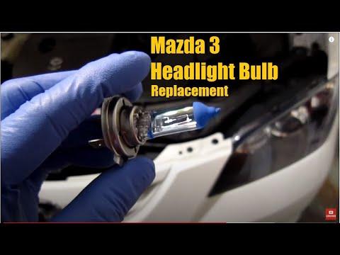 Mazda 3 Headlight bulb replacement | AnthonyJ350