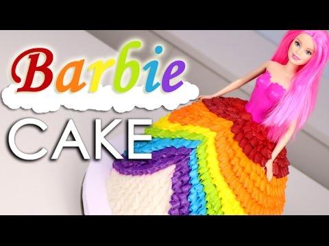 RAINBOW Princess Dress CAKE