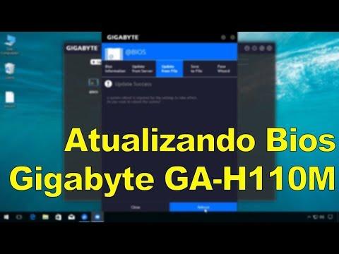 Atualizando a Bios das placas-mãe Gigabyte GA-H110M
