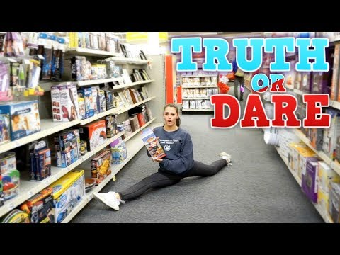 TRUTH OR DARE: GYMNASTICS AND CHEER EDITION!