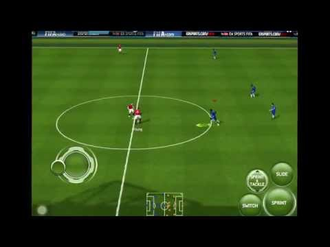 FIFA 15 iOS GAMEPLAY - CHELSEA VS MANCHESTER UNITED (ENGLISH COMMENTARY)