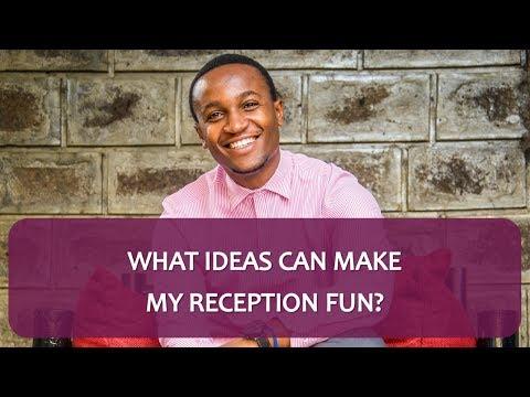 What Ideas Can Make My Reception Fun? - Ask The Wedding MC | Sisimsha Entertainment