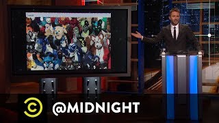 A Furry Alternative to Comic-Con - @midnight with Chris Hardwick