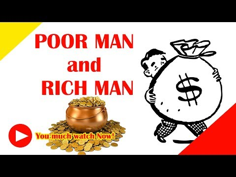 Poor Man and Rich Man (MUST WATCH) | How to be rich (TODAY) | How to make money fast | #MakeMoneyNOW