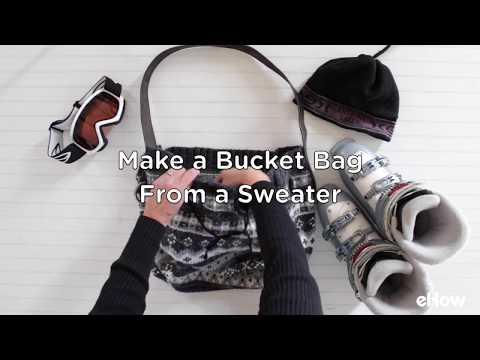 Sweater Bucket Bag