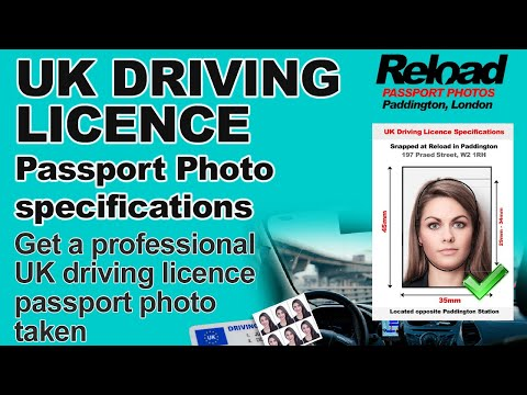 Driving Licence Photo or Provisional driving licence photo from Reload Internet in Paddington