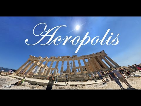 THE ACROPOLIS OF ATHENS step-by-step walking on