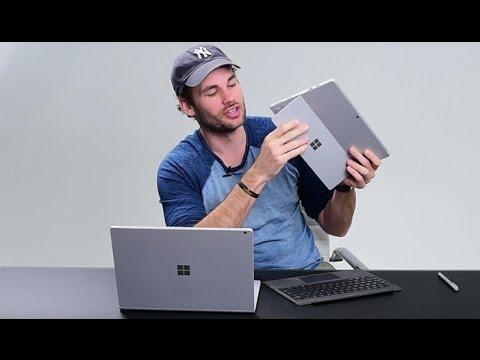 Microsoft Surface Book Vs Surface Pro 4 Comparison/Review