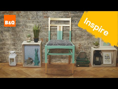 3 ways to upcycle your chairs