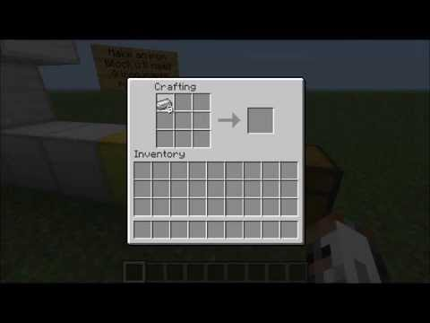 Minecraft  Tutorial: 9 Things to do with Iron Ingots