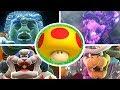 Download Super Mario Odyssey - All Bosses with Mega Mushrooms MP3,3GP,MP4