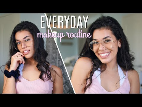 EVERYDAY MAKEUP TUTORIAL // Summer 2017 | Ava Jules