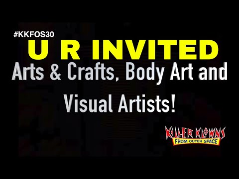 Calling All KKFOS Arts & Crafts, Body Art and Visual Artists!