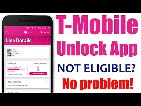 How to use T-Mobile Unlock App method for Samsung Galaxy S9, S8, S7, S6, Avant, Core, LG Leon