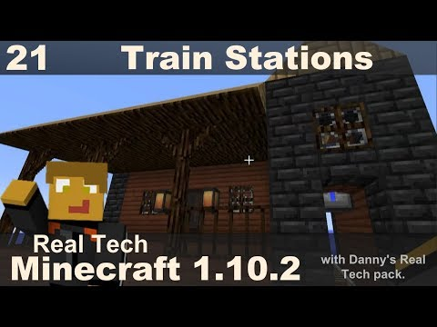 Real Tech 21 - Train Stations