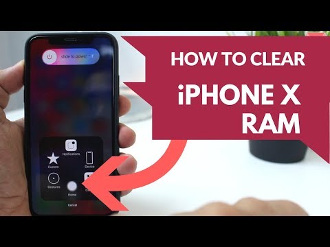 How To Clear iPhone X RAM Memory!