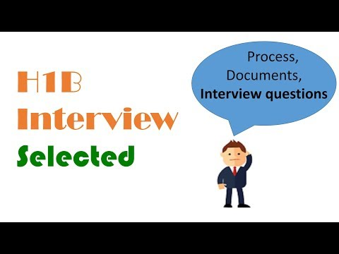H1B USA Visa Interview Experience [Sample Questions, Documents & Tips]