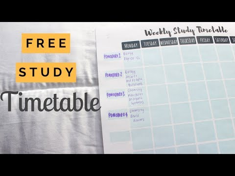 How to make THE BEST REVISION TIMETABLE || STUDENT BOSS
