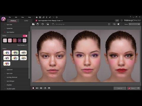 Full Installation and Tutorials of Best Makeup Software CyberLink Makeup Director 2