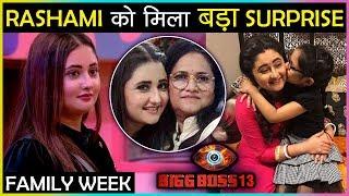OMG! Rashami Desai Gets SHOCKING Surprise During The Family Week | Bigg Boss 13