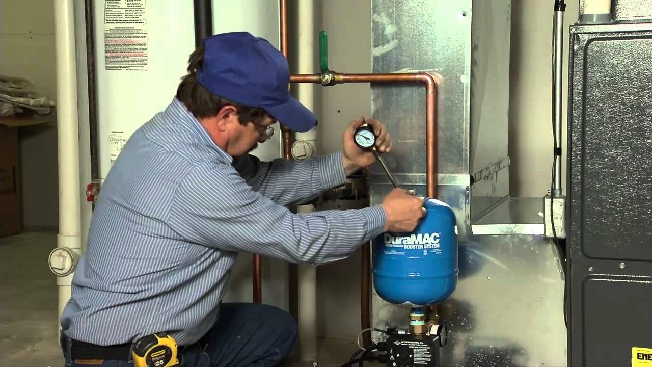 DuraMAC™ Residential Pressure Booster Installation