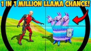 *1 IN A MILLION* LLAMA CHANCE!! - Fortnite Funny Fails and WTF Moments! #929