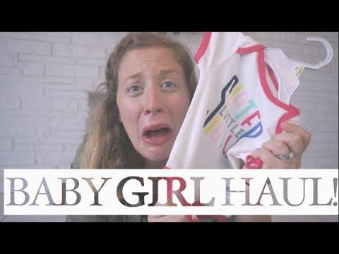 FIRST Baby GIRL Haul! | steffiethischapter