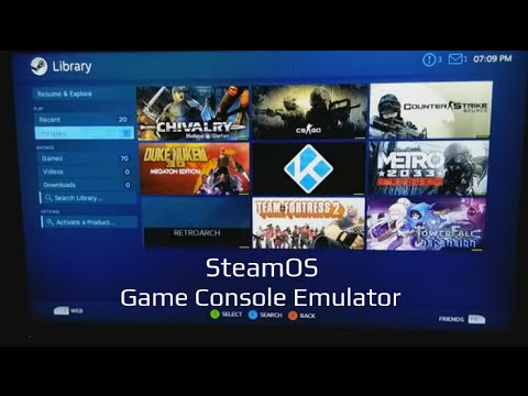 Use SteamOS To Emulate Game Consoles With RetroArch