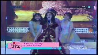 JKT48 |Kimi Wa Melody| - Melody Graduation Concert